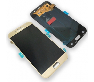 Oryginalny pełny ekran do Samsung Galaxy A5 A520F 2017 Gold Gold Samsung - 1