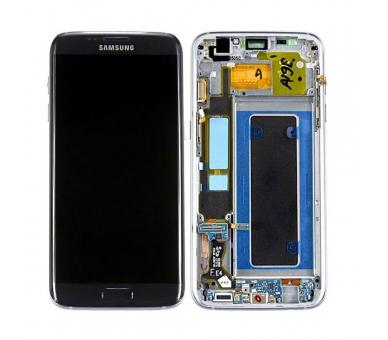 Origineel volledig scherm met frame voor Samsung Galaxy S7 Edge Zwart Zwart Samsung - 1