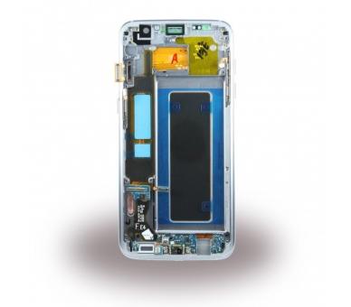 Origineel volledig scherm met frame voor Samsung Galaxy S7 Edge Zwart Zwart Samsung - 3