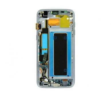 Origineel volledig scherm met frame voor Samsung Galaxy S7 Edge Zwart Zwart Samsung - 4