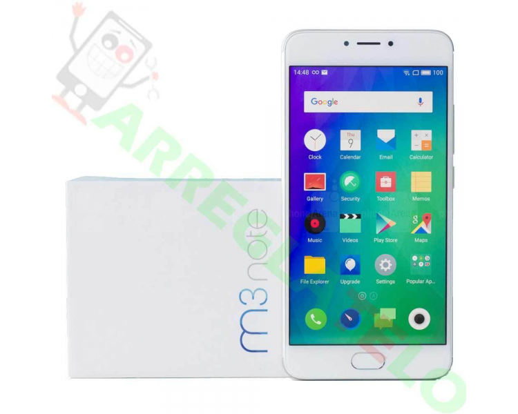 Meizu M3 Note 32GB Internationale versie 4G 3GB IPS OCTA CORE Wit Zilver Meizu - 1