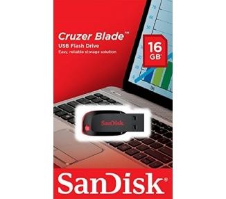 Clé USB 2.0 SanDisk Cruzer Blade 16 Go  - 1