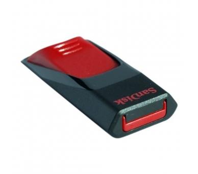 SanDisk SDCZ51-016G-B35 16GB USB 2.0 Flash Drive zwart en rood SanDisk - 3