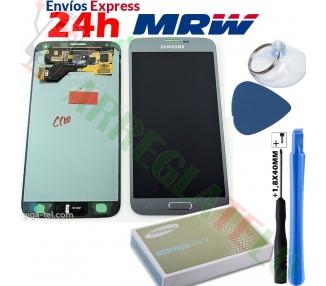 Oryginalny ekran do telefonu Samsung Galaxy S5 Neo Silver G903F SM-G903F