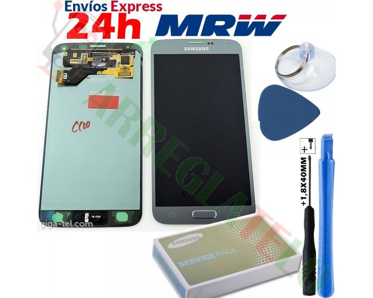 Origineel scherm voor Samsung Galaxy S5 Neo Silver G903F SM-G903F Samsung - 1