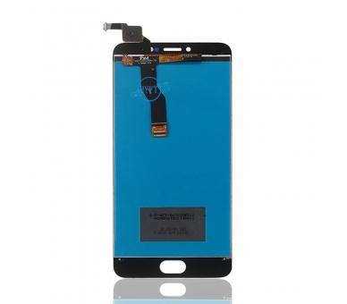 Pełny ekran dla Meizu M3 Note TXDT550UZPA-75 Biały Biały ARREGLATELO - 4