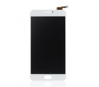 Pełny ekran dla Meizu M3 Note TXDT550UZPA-75 Biały Biały ARREGLATELO - 2