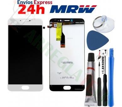 Volledig scherm voor Meizu M3 Note TXDT550UZPA-75 Wit Wit FIX IT - 1