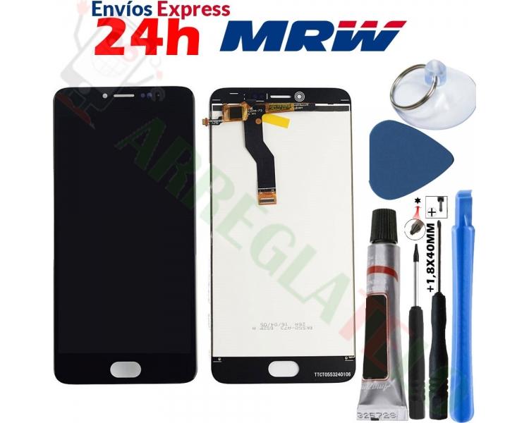 Pełny ekran dla Meizu M3 Note TXDT550UZPA-75 Czarny Czarny