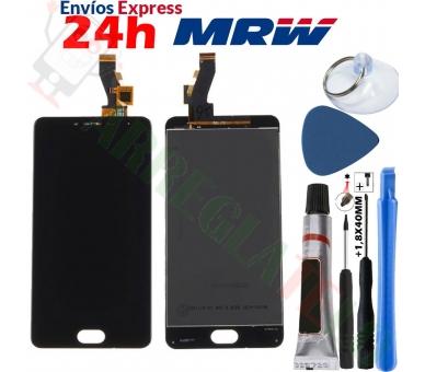 Volledig scherm voor Meizu M3S FPC-T50KB186S3M-1 Zwart Zwart FIX IT - 1