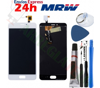 Volledig scherm voor Meizu M3S TXDT500UYPA-251 Wit Wit FIX IT - 1