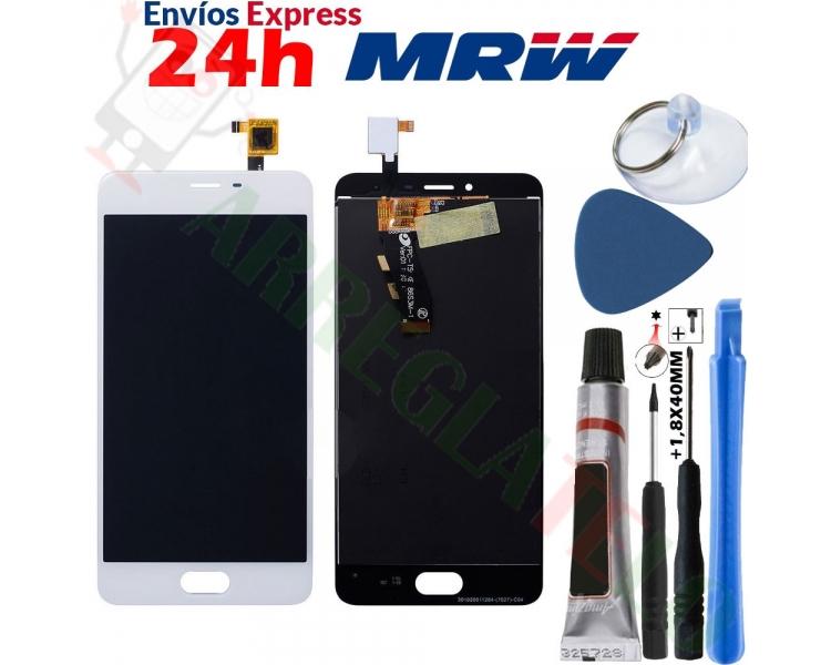 Pełny ekran dla Meizu M3S TXDT500UYPA-251 Biały Biały