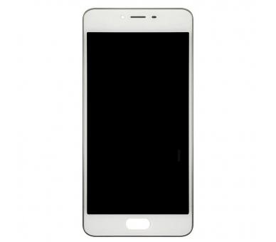 Volledig scherm met frame voor Meizu M3S TXDT500UYPA-251 Wit Wit FIX IT - 1