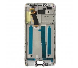 Pełny ekran z ramką dla Meizu M3S TXDT500UYPA-251 Biały Biały
