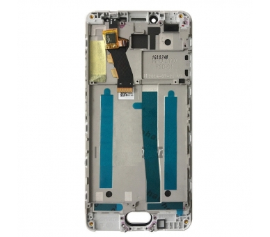 Display For Meizu M3S, Color Gold, With Frame ARREGLATELO - 2