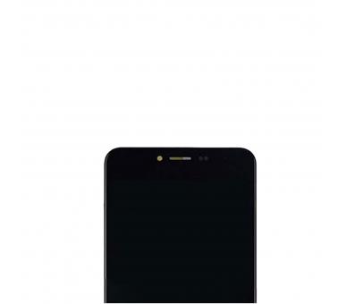 Volledig scherm met frame voor Meizu M3S TXDT500UYPA-251 Zwart Zwart FIX IT - 3
