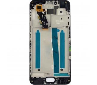 Pełny ekran z ramką do Meizu M3S TXDT500UYPA-251 Czarny Czarny