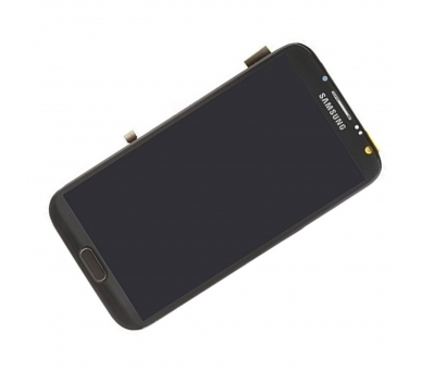 Display For Samsung Galaxy Note 2, Color Black, With Frame, TFT ARREGLATELO - 4