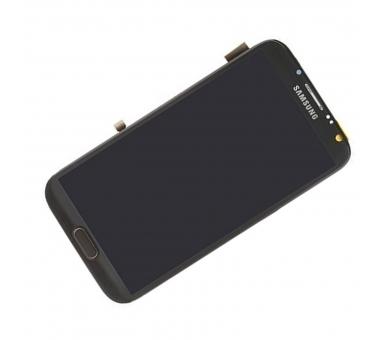Volledig scherm met frame voor Samsung Galaxy Note 2 N7100 Zwart Zwart FIX IT - 4