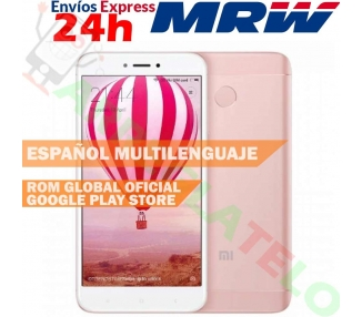 Xiaomi Redmi 4X | Rose | 16GB | Refurbished | Grade New