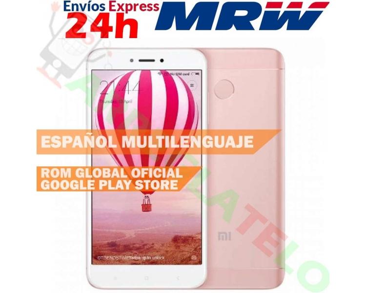 Xiaomi Redmi 4X 4 X 16GB Snapdragon Octa Core 4100mAh MIUI8 Touch ID Doro Pink