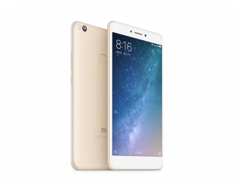 Xiaomi Mi Max | Gold | 64GB | Refurbished | Grade New Xiaomi - 1