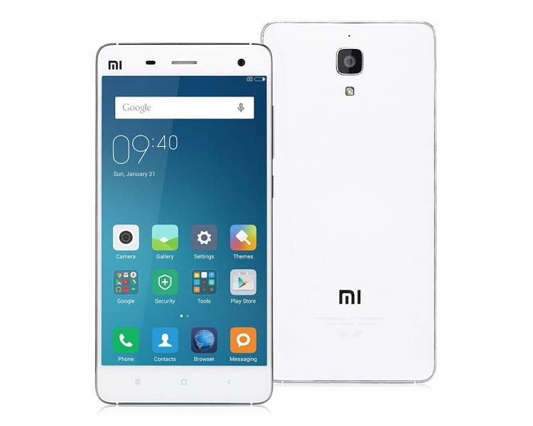 Xiaomi Mi4 Global LTE 4G 2Gb Ram 16Gb Rom 13Mp - 8MP Biały