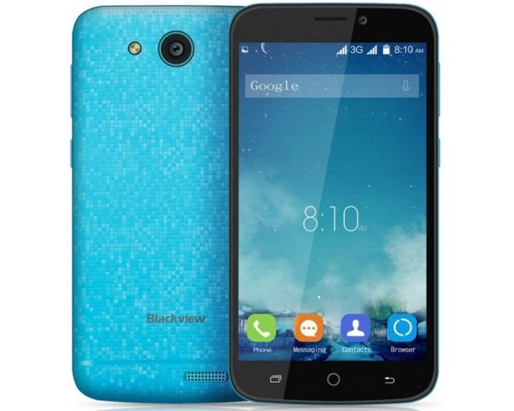 Blackview A5 Android 6.0 Quad Core 8 GB GPS 3G Dual Sim Niebieski