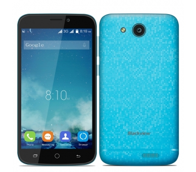 Blackview A5 Android 6.0 Quad Core 8GB GPS 3G Dual Sim Blau Blackview - 2