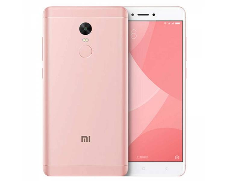 Xiaomi Redmi Note 4X / 4 X / 32GB 3GB RAM w kolorze różowego złota