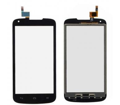 Touch Screen Digitizer voor Huawei Ascend Y520 Zwart  - 2