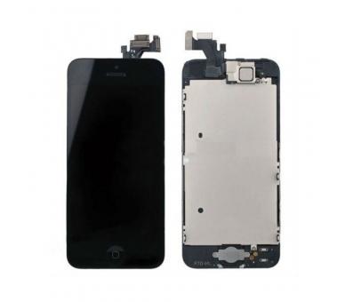 Scherm voor iPhone 5 Compleet met camera, knop en sensoren, zwart zwart ARREGLATELO - 3