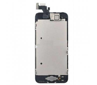 Scherm voor iPhone 5 Compleet met camera, knop en sensoren, zwart zwart ARREGLATELO - 4