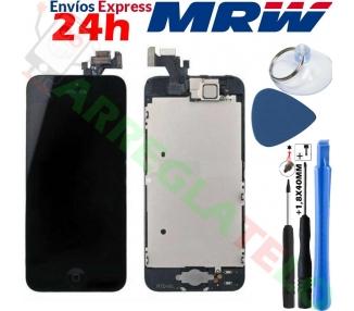 Pantalla para iPhone 5 Completa con Camara, Boton & Sensores, Negro Negra ARREGLATELO - 2