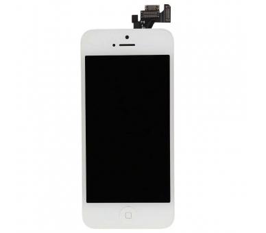 Ekran do iPhone'a 5 w komplecie z aparatem, biały biały przycisk ARREGLATELO - 4