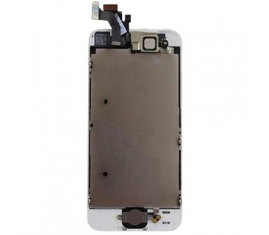 Ekran do iPhone'a 5 w komplecie z aparatem, biały biały przycisk ARREGLATELO - 5