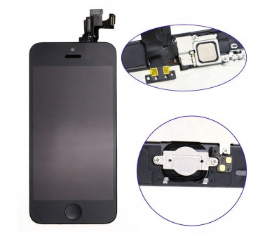 Display for iPhone 5C, Color Black ARREGLATELO - 2