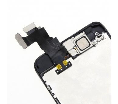Scherm voor iPhone 5C Compleet met camera, knop en sensoren, zwart zwart ARREGLATELO - 4