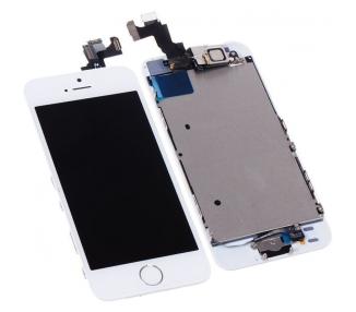 Pantalla para iPhone 5S Completa con Camara, Boton Blanco Blanca ARREGLATELO - 2