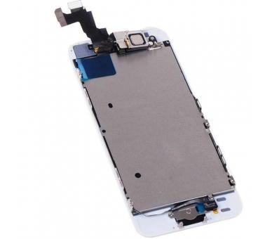 Ekran do iPhone 5S w komplecie z aparatem, biały przycisk, biały ARREGLATELO - 3