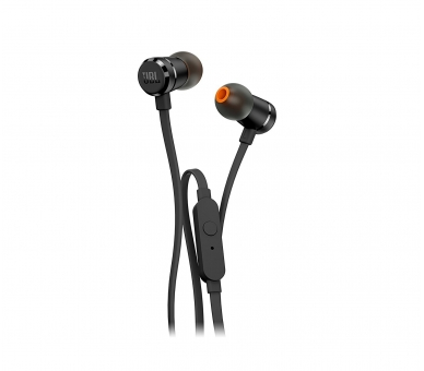 Originele JBL T290 in-ear stereohoofdtelefoon, zwarte kleur JBL - 2