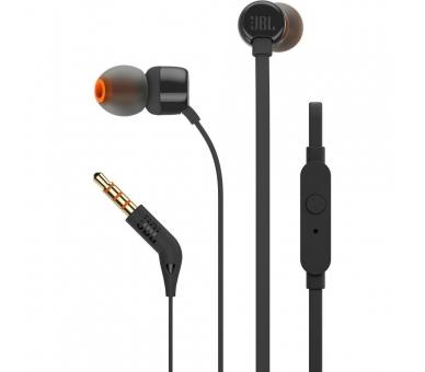 Originele JBL T290 in-ear stereohoofdtelefoon, zwarte kleur JBL - 3