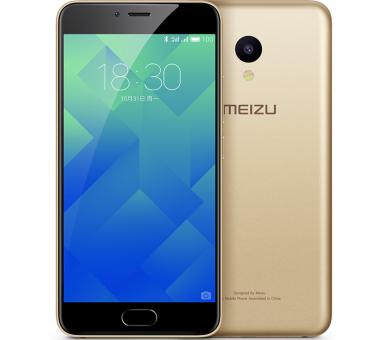 """Meizu M5 - 4G 5.2 2GB RAM 16GB ROM 13 MP Gold Gold """" Meizu - 1"""
