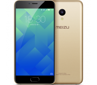 "Meizu M5 - 4G 5.2"" 2GB RAM 16GB ROM 13 MP Or Oro"
