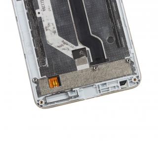 Pełny ekran z ramką do ZTE Blade A570 White White