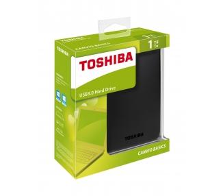 "External HDD TOSHIBA CANVIO BASIC 1TB 2.5 USB 3.0 BLACK HDTB310EK3AA"""