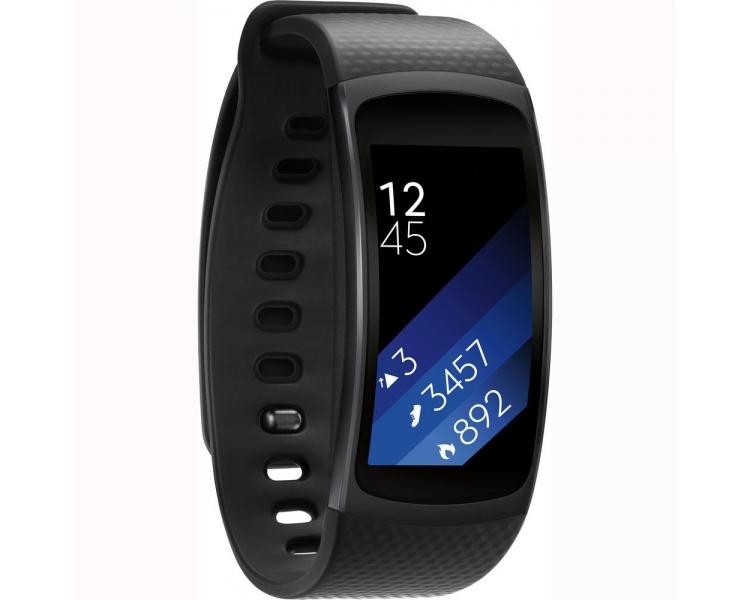 Samsung Gear Fit 2 - Bransoletka fitness 1,5 '' 4GB, 512 MB RAM Czarny