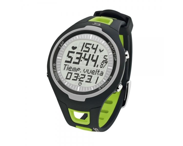 Sigma PC 15.11 - Pulsómetro (contador de caloriás, frecuencia cardiáca) verde  - 1