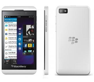 """BlackBerry Z10 4G LTE - (4,2 8Mp, 16GB,) biały """""""