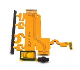 Cable Flex Sony Xperia Z1 L39H Boton Encendido Microfono Control Volumen Sony - 1